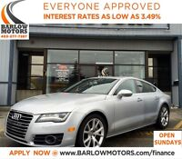 2012 Audi A7 Premium(Tiptronic)/AWD/FULLY LOADED