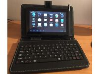 7 inch Time2 android tablet with detachable keyboard