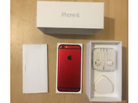 Rare Red iPhone 6 16GB Unlocked Perfect Condition
