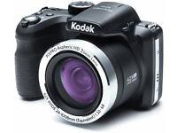 Kodak PixPro AZ421 16MP 42x Zoom USB HMDI Mini Bridge Camera - Black - AS NEW