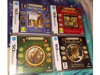 4 professor layton ds games one is new and sealed