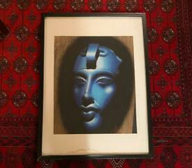 Egyptian Papyrus Framed Pictures