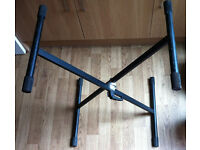 X-frame black easy Speedy-Lock professional electronic Keyboard Stand