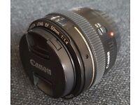 Canon 50mm f1.4 USM Lens EF 1.4