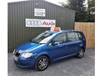 2007 VOLKSWAGEN TOURAN 2.0 TDI SE 140, 7 SEATER, SERVICED, TWO KEYS, ALLOYS, SERVICE HISTORY