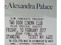 Two Door Cinema Club _ London Concert_ Friday 10th February