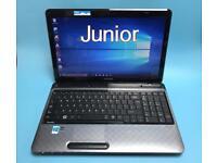 Toshiba HD Laptop, 8GB, 500GB Genuine Win 10, HDMI, Microsoft office, Excellent Condition
