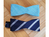 2 x New Penguin By Munsingwear Mens Bow Tie - Bowties Suit Smart