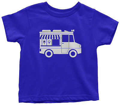 Ice Cream Themed Birthday Party (Ice Cream Truck Toddler T-Shirt Cute Birthday Party Theme)