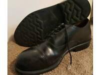 Mitary black shoes