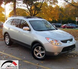 2010 Hyundai Veracruz GLS/ 7 PASSENGER/ AWD/ NO ACCIDENT/ ONE OW