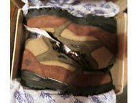 Hiking boots - ladies new never worn