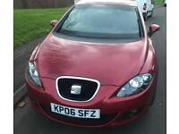 Seat Leon 2.0 FSi 2006 Red , 12 MONTHS MOT FULL SERVICE HISTORY, TOWBAR £1795