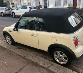 Mini One Convertible WHITE
