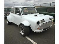 Austin Mini - 380bhp. Ford Cosworth 4x4 Turbo, tax exempt