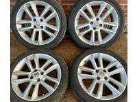 Vauxhall Corsa D SRI 17 inch Alloy Wheels 4 x 100 Genuine GM 215/45 r17 w TPMS
