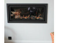 Gazco Studio 2 Slimline - Log Effect Gas Fire -