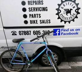 """Retro Raleigh Massif, 26"""" wheel, serviced and ready to ride, good condition"""
