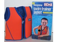 Bema Swimming Training Jacket / vest approx. Age 2-4 years
