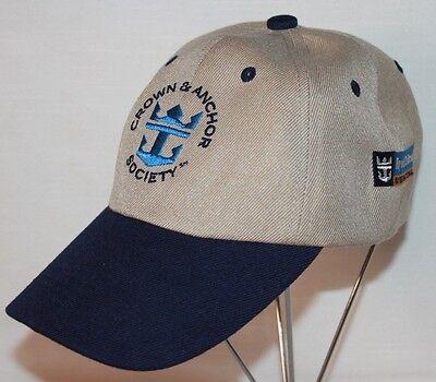 Royal Caribbean International Crown And Anchor Society Hat   Adjustable