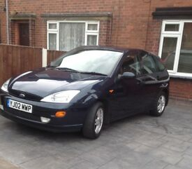 Ford Focus 1.6 02 plate