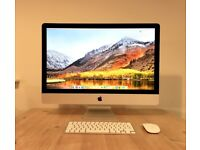 APPLE IMAC 27-INCH CORE I5 3.4GHZ (LATE 2013) - IMMACULATE CONDITION