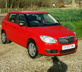 Skoda Fabia 2009 1.2 HTP Petrol Only 18000 Miles 3 months Warranty&Recovery Excellent condition car