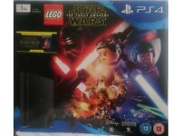 Sony Playstation 4 Star Wars The Force Awakens 1TB[with Star Wars movie included]