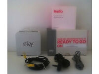 Sky Wireless ADSL Broadband Router; Model SR101; Hub + 3 Cables