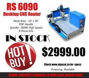 CANADIAN STOCK AVAILABLE! RS6090 CNC WOOD ROUTER