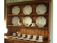 "Johnson Brothers ""Garden Trellis"" 28 pieces of tableware"