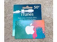 €50 iTunes Voucher