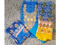 Unstitched Asian suits 2 for £30