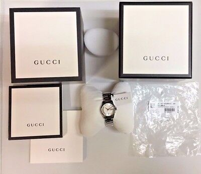 NEW!! Women's Gucci YA126523 with Box, Papers and Tags