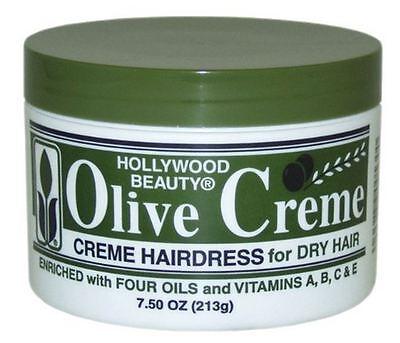 Hollywood Beauty Olive Cholesterol - Olive Creme, 7.5 -