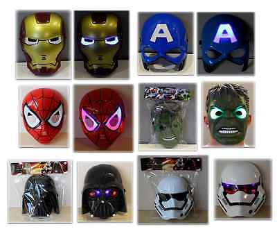 Kinder Iron Man Maske (Avengers Star Wars Kindermaske Maske leuchten fur Kinder Iron Man Hulk Spiderman)