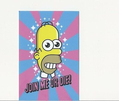 Mr Sparkle Homer Simpson Power Clean Japanese Sticker Join Me Or Die  Funny Gag