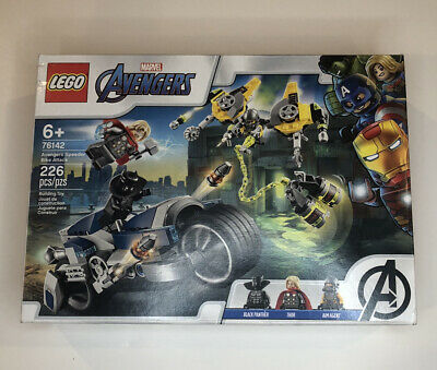 LEGO Marvel Avengers Speeder Bike Attack 76142 Black Panther and Thor