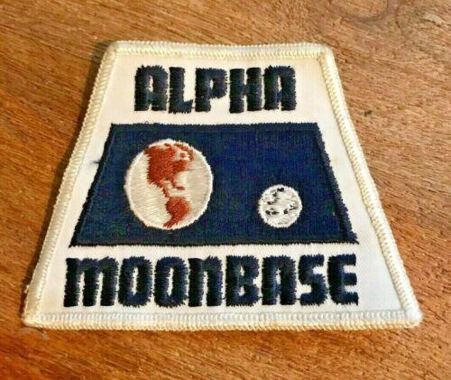 """Space:1999 Alpha Moonbase 4"""" Uniform Patch"""
