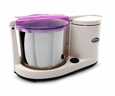 Elgi Ultra Dura+ Top 1.25L FOOD Wet Grinder w/Atta Kneader 110-Volt Stone Mill