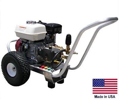 Pressure Washer Coml - Portable - 2.5 Gpm - 3300 Psi - 6.5 Hp Honda - Cat-biul