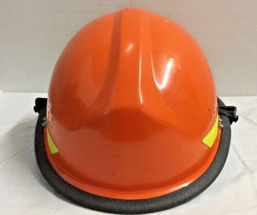 Bullard Fire Helmet with adjustable liner and Face Guard lugs