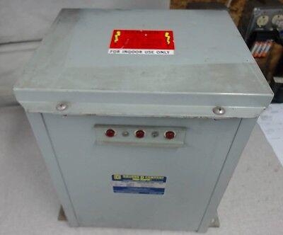 Square D Power Factor Capacitor Pfc -4002f 2.5 Kvar 480 Volts 60hz 3 Ph