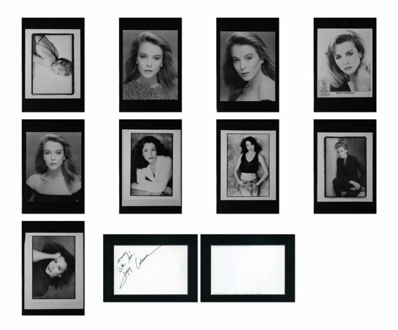 Signy Coleman - Signed Autograph and Headshot Photo set - guiding Light