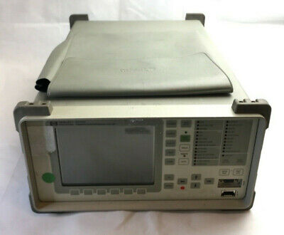 Hp Agilent Omniber Communications Performance Analyzer 37717c  Tg51