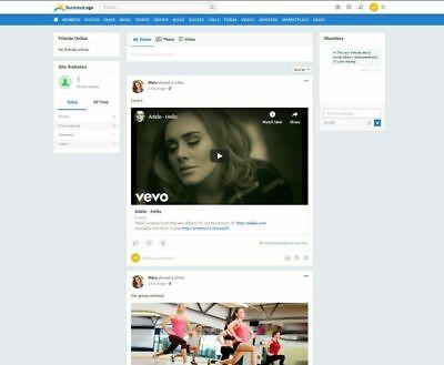 Professional Social Network Website Free Hosting Ssl
