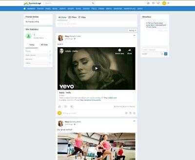Online Social Networking Website - Free Installation Hosting