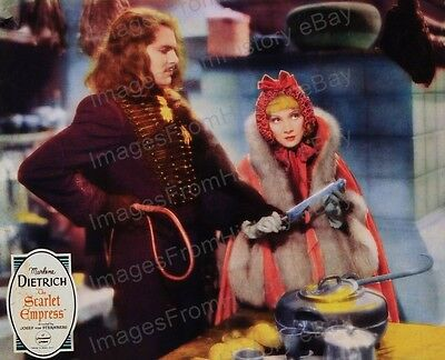 8x10 Print Marlene Dietrich The Scarlet Empress 1937 #MDSE