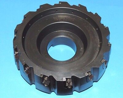 Ingersoll 6.50 Power-max Indexable 0 Flat On Face Mill 6k2a06r06 8k2a