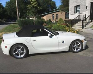 BMW Z4 Cabriolet 3.0SI 2007 en excellente condition